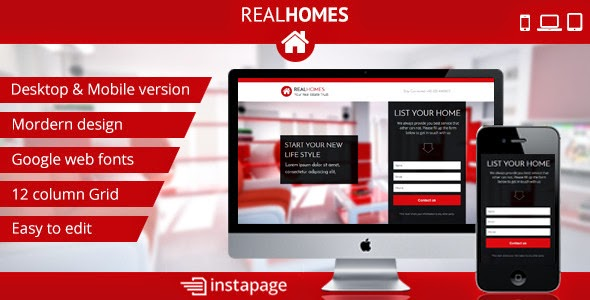 Free Real Estate Landing Page