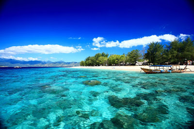Keindahan Tempat Wisata Gili Trawangan Lombok  Yang Mempesona