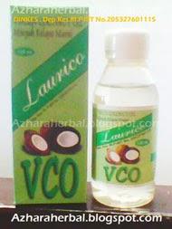 VCO Minyak Kelapa, Laurico