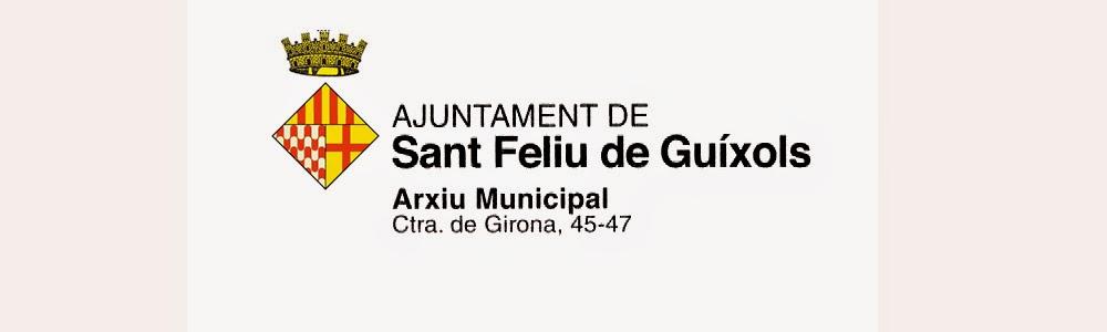 Arxiu Municipal de Sant Feliu de Guíxols