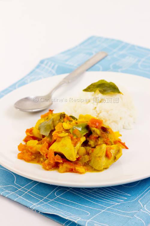 咖哩番茄雞  Curry Chicken and Tomato01