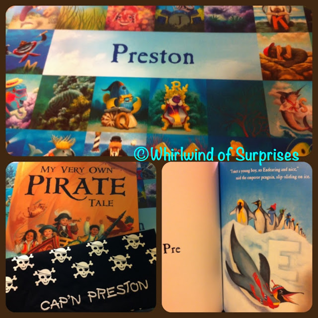personalized children's books, placemat, review