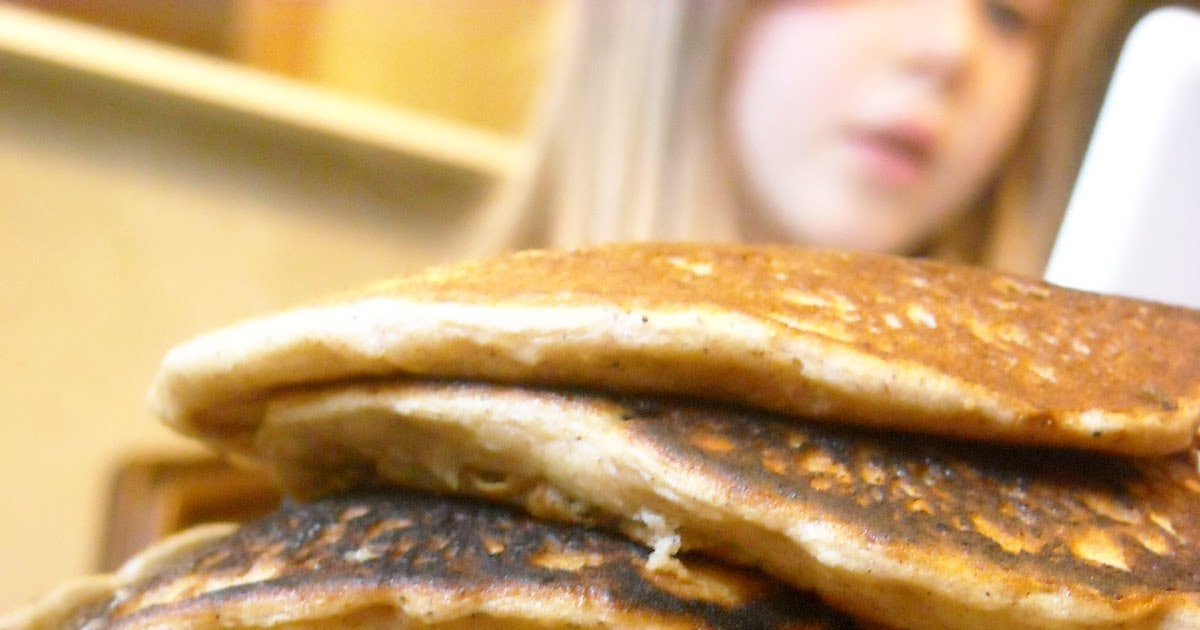 Foodie 4 Healing: Zucchini Bread Pancakes