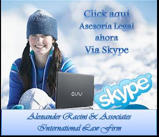 Nuevo Servicio de Asesoría Legal Skype