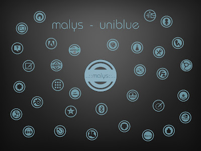 malys uniblue icon theme