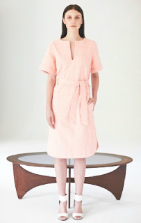 People Tree S/S 2014 Atelier Collection - Fair Trade Clothing - Pink Dress