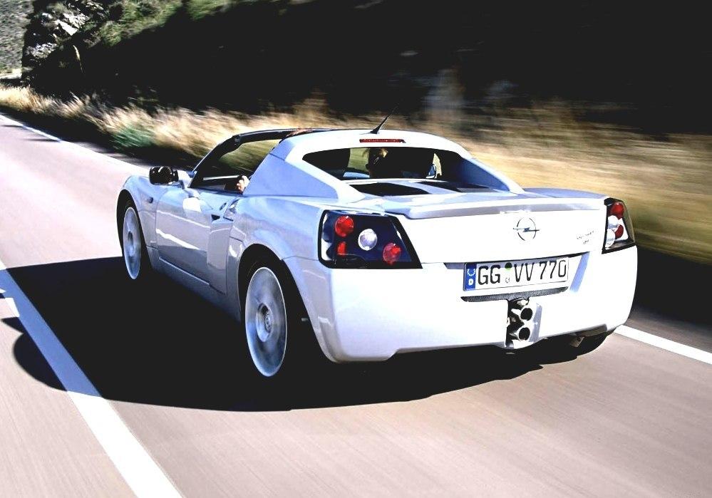 Opel Speedster Vauxhall Sports Car