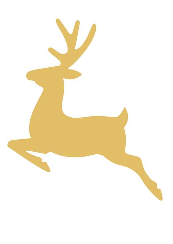 Holiday Home Tour 2013 + {DIY} Glitter Reindeer | Deer Heads, Deer and ...