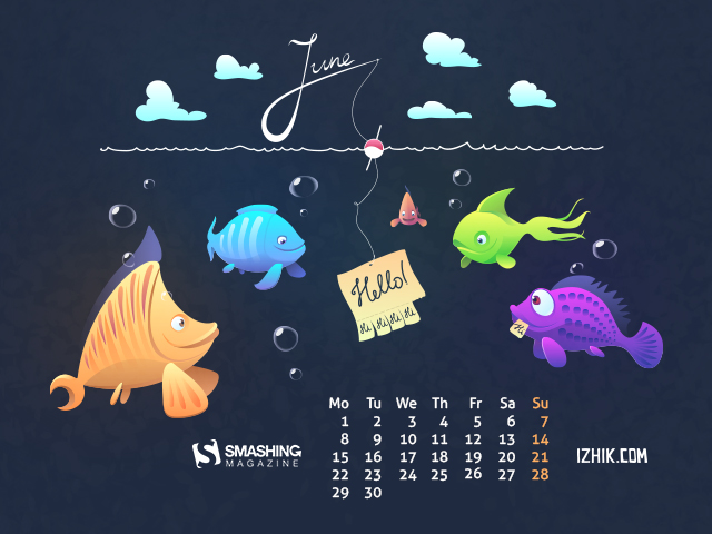 Wallpaper June 2015 - Designed by Igor Izhik