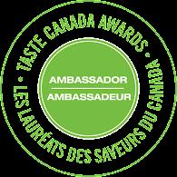 Taste Canada Ambassador