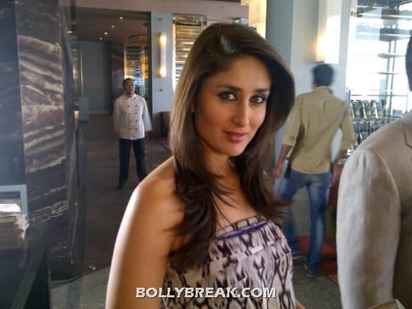 Kareena Kapoor close up -  kareena Kapoor strapless neutral top