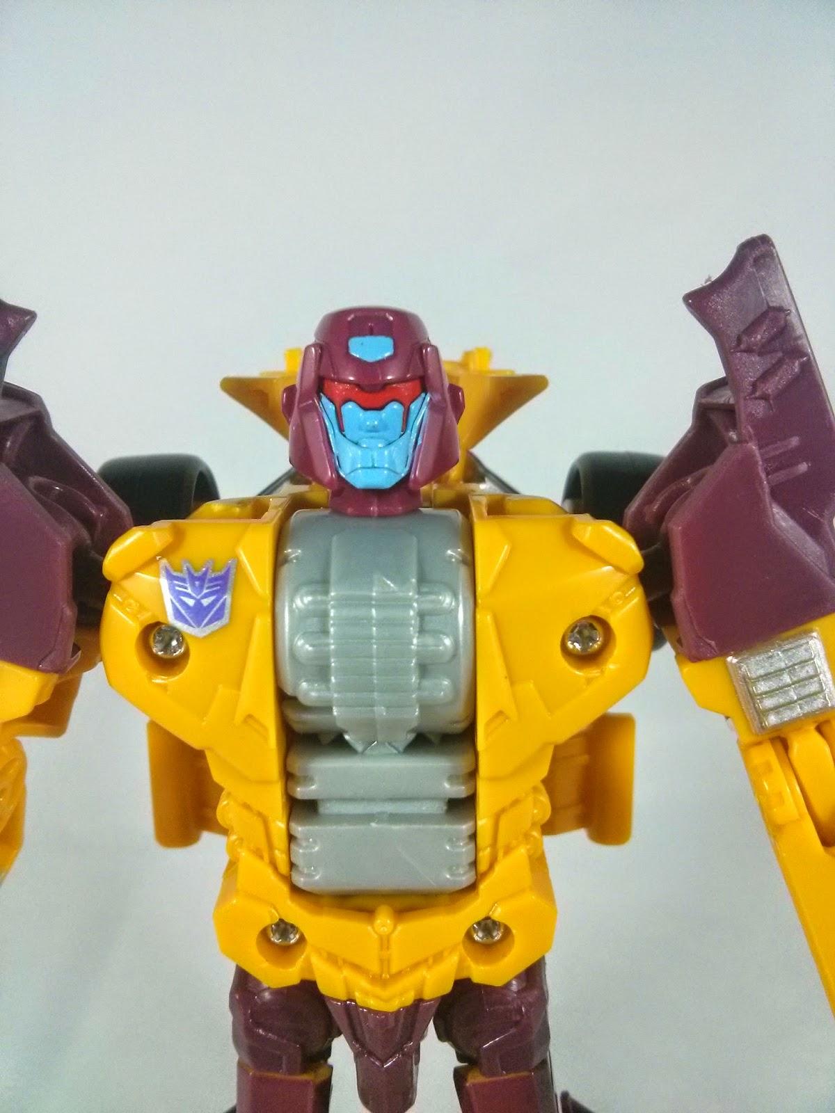 transformers drag strip head