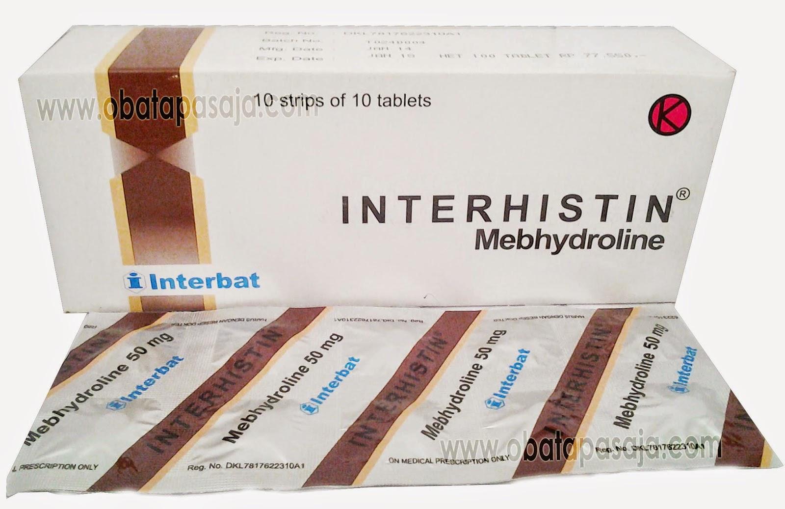 Dosis dan Komposisi Interhistin Tablet dan Sirop
