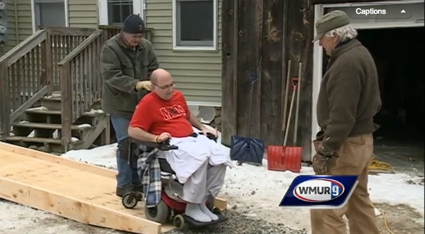 new boston a disabled veteran living with cancer in new boston was