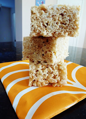 Salted Browned Butter Rice Crispy Treat