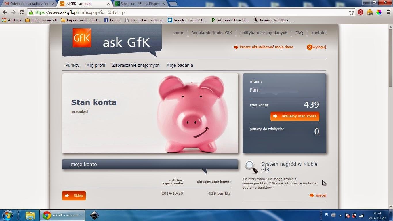 Ask Gfk płatne ankiety sprawdzona firma opinie