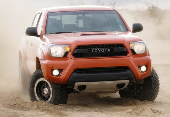 2017 Toyota Tacoma TRD Pro Series Release Date