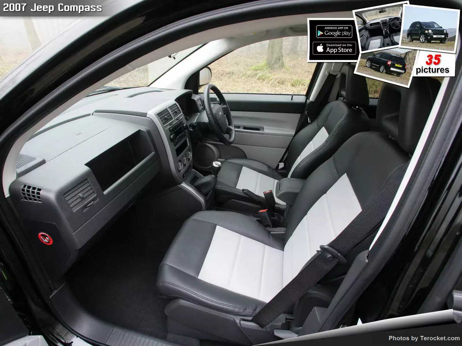 Hình ảnh xe ô tô Jeep Compass UK Version 2007 & nội ngoại thất