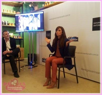 Lançamento do site da atriz Giovanna Antonelli