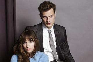 Jamie Dornan and Fifty Shades of Grey co-star Dakota Johnson.