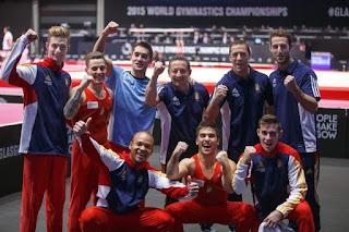 GIMNASIA ARTÍSTICA - El equipo masculino español clasifica para el Preolímpico de Río 2016