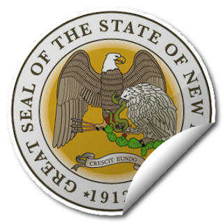 Sticker of New Mexico Seal