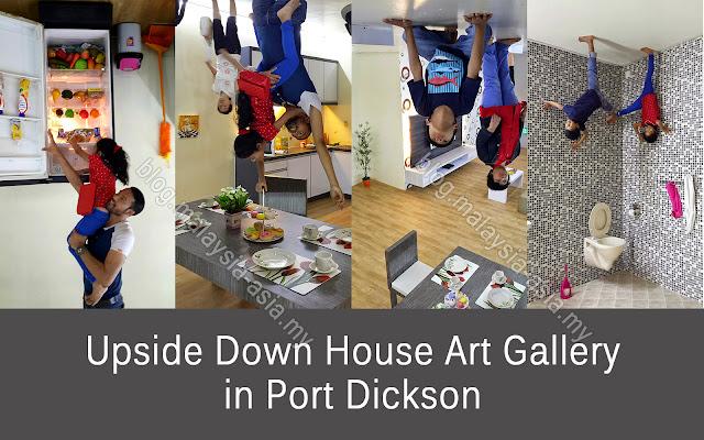 Rumah Terbalik di Port Dickson