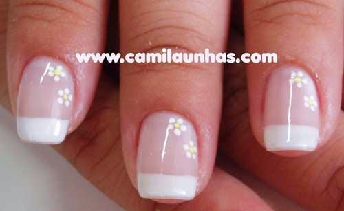 Imagenes de Uñas decoradas , lindas decoraciones con esmalte y uñas postizas con piedras. decoraciones sencillas de uñas para