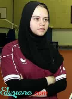 Atlet Muslim Cantik Qatar