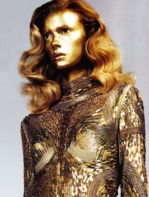 sequins dress, roberto cavalli gold dress