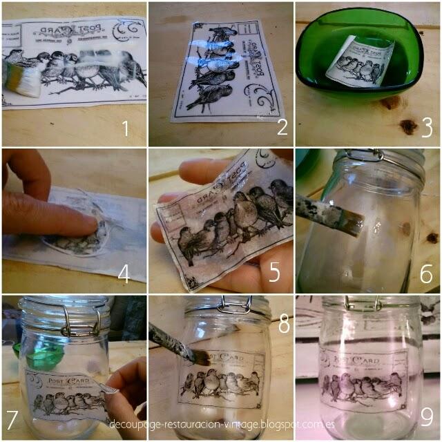 Tutorial transfer en vidrio y cristal