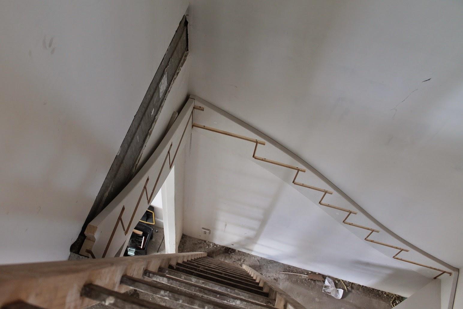 Helen marc olivia bouwen een huis een trap in huis for Trap bouwen