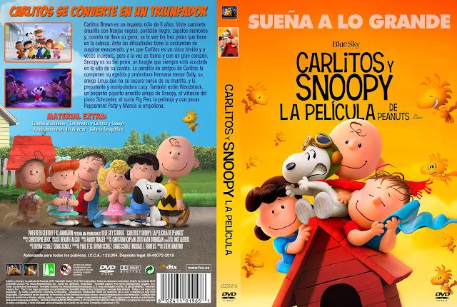 Caratula Snoopy y Charlie Brown: Peanuts La Película (2015)