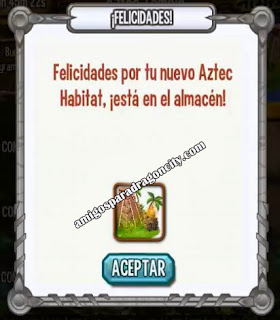 imagen del primer premio de la isla azteca de dragon city