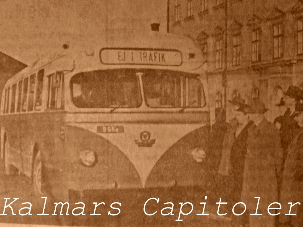 När Kalmar fick sina Capitolbussar