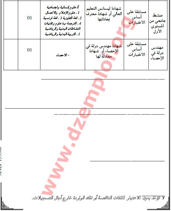 إعلان مسابقة توظيف في المدرسة العليا للأساتذة بوزريعة الجزائر العاصمة BOUZARIAA%2B02