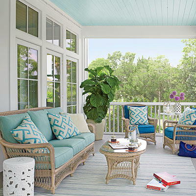 Coastal Living Showcase Patio