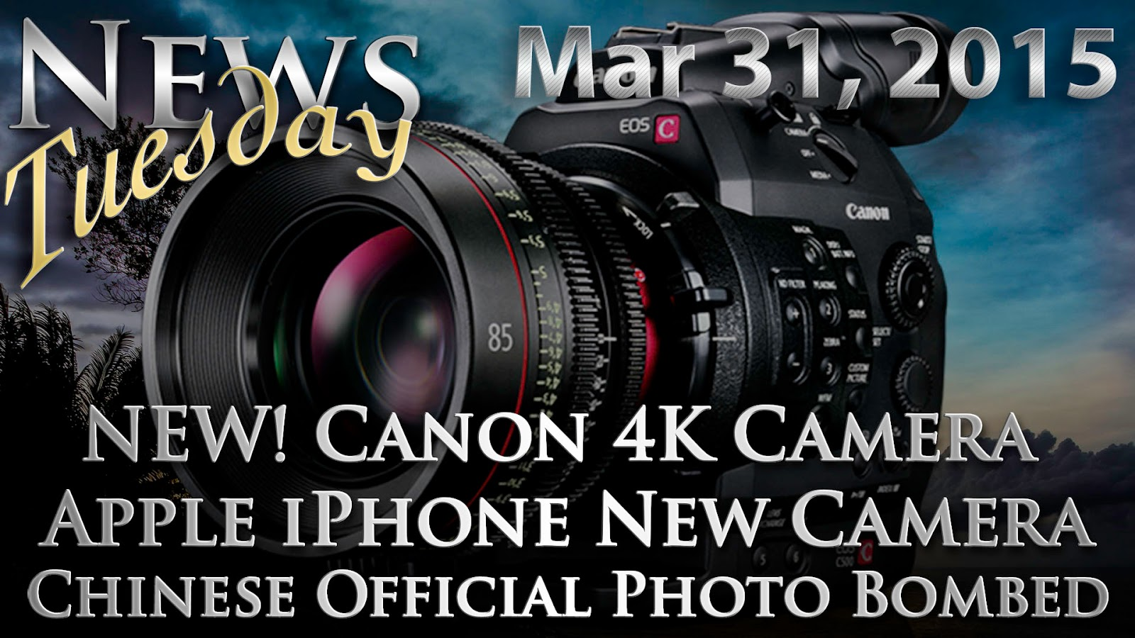New Camera In Next iPhone, Canon 4K Camera & Chinese Official Busted For Photography | News Tuesday