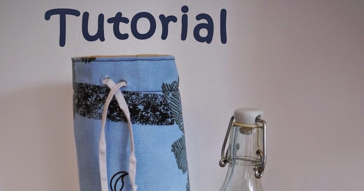Ikea Trinkflasche Glas : Mirilis Ideenwelt Flaschenschutz  Tutorial
