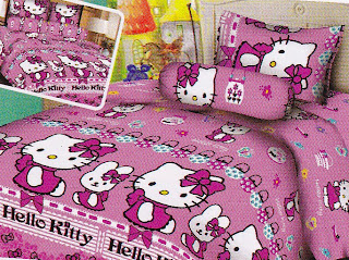 Sprei Fairmont Hello Kitty