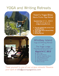 2013 YOGA AND WRITING RETREATS