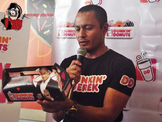 Derek Ramsay is the new face of Dunkin' Donuts