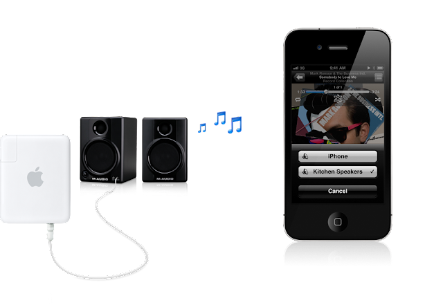 airplay speakers20101116 iPhone 4: O Guia Completo (Parte 22   AirPlay)