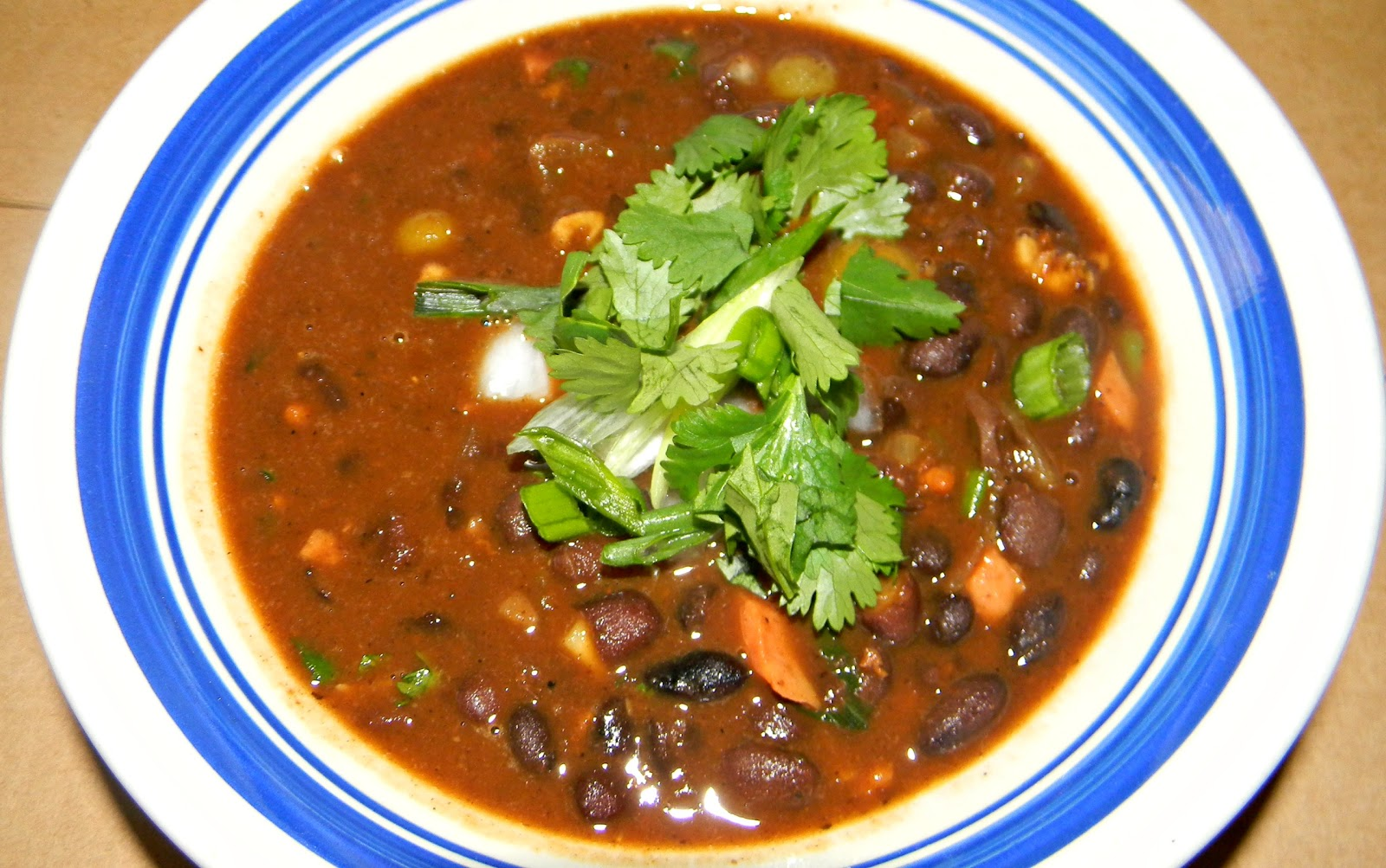 Black Bean Soup Recipe — Dishmaps