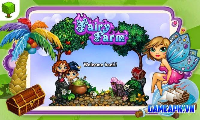 Fairy Farm v2.3.9 hack full tiền xu và đá quý cho Android