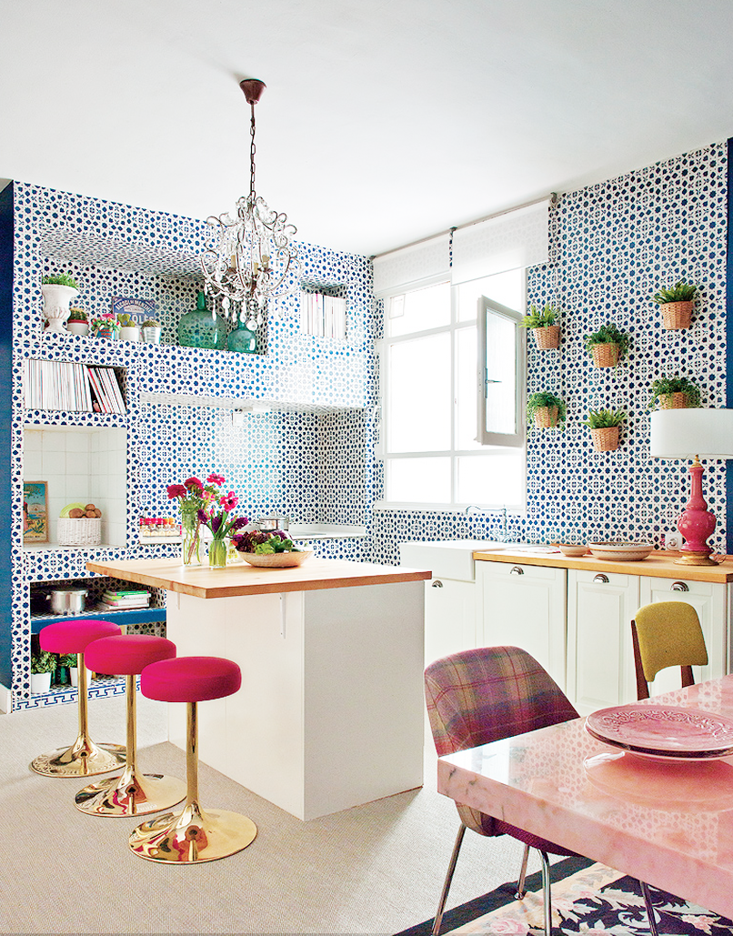 Design Fixation Decor Inspiration  Colorful Kitchens That Work - Colorful kitchens