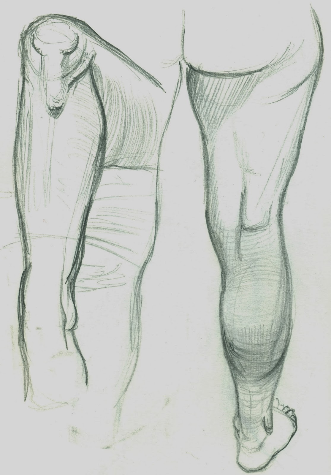 It is strong, the blog is!!!: Life Drawing Training Day 3 Hand and ...