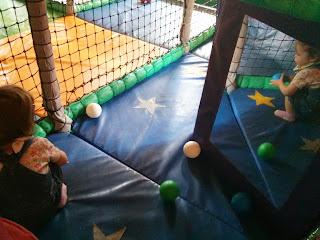 gathering the balls