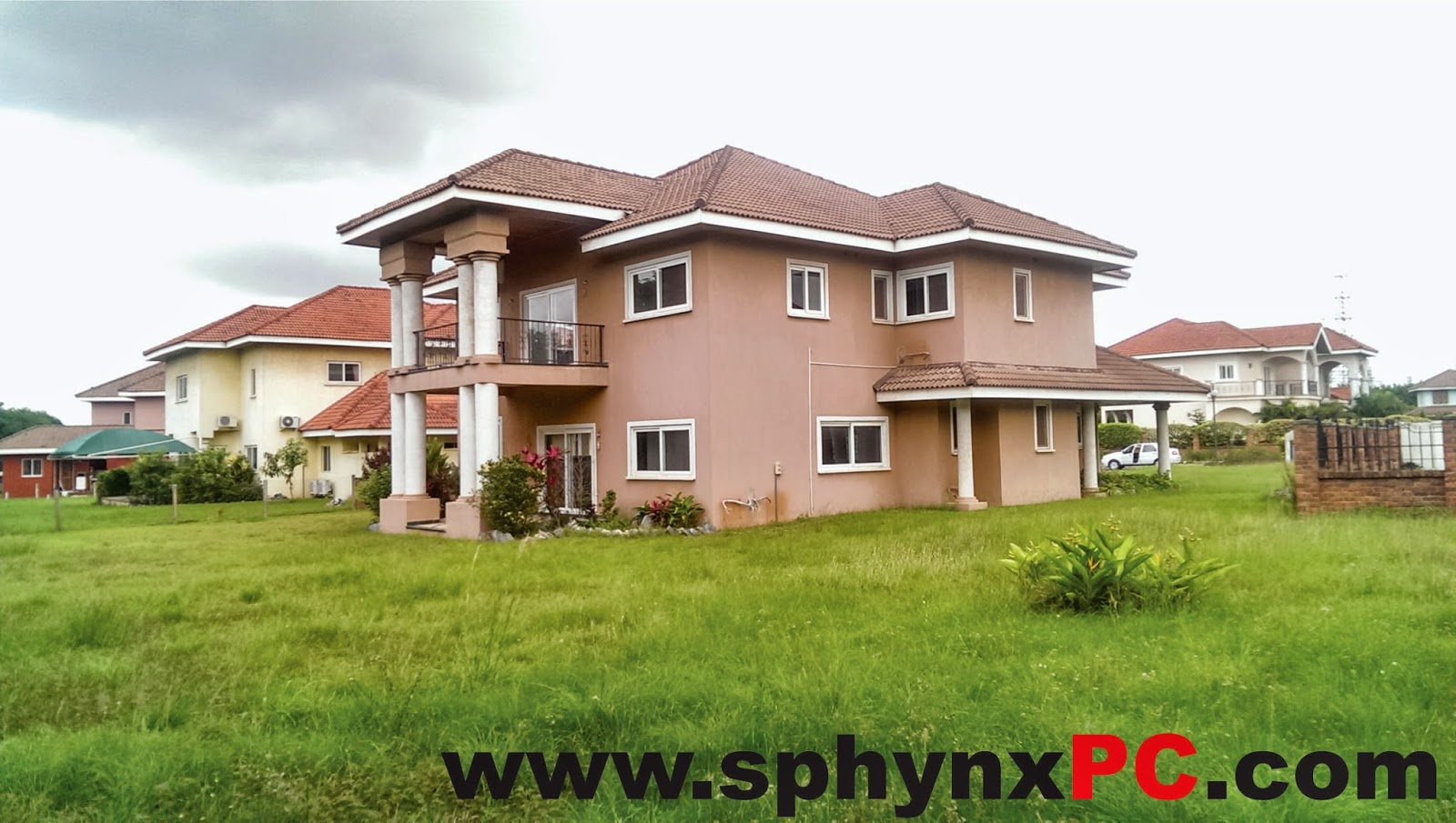Sphynx house for sale trasacco valley accra ghana for Big houses for low prices