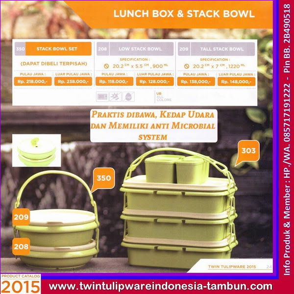 Stack Bowl Set, Low Stack Bowl, Tall Stack Bowl, Lunch Box